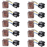 E Support Car Relay 12v 80a Spst 4pin Socket Pack