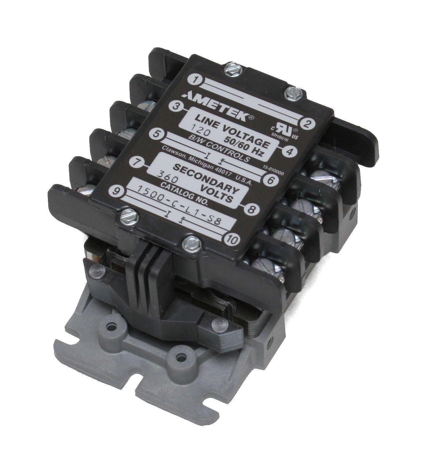 B/W Controls 1500-C-L1-S8 Liquid Level Control Relay