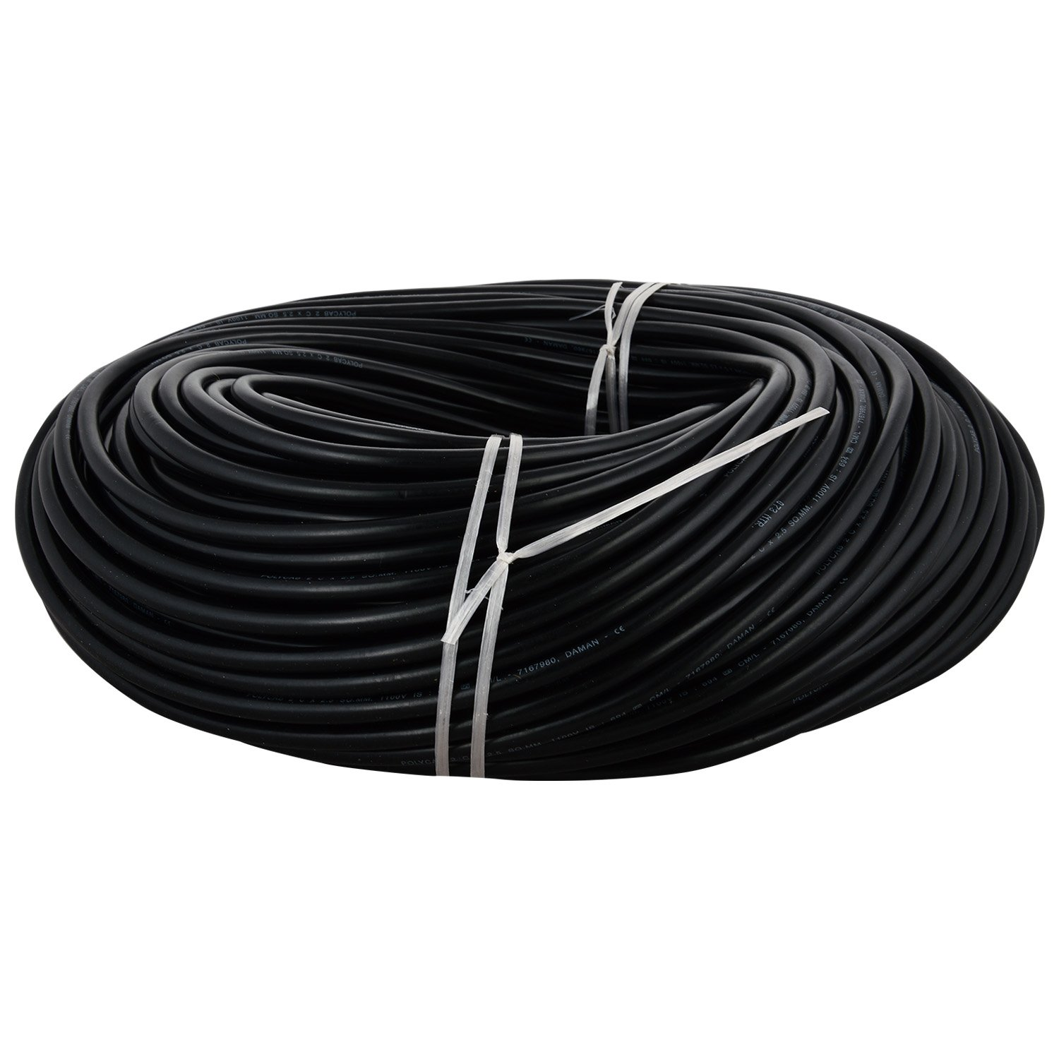 Polycab Pvc Insulated 2 Core Copper Cable 25 Sq Mm Wire Black Electrical Wirepvc Coated Electric Wire7 Stranded Home Improvement