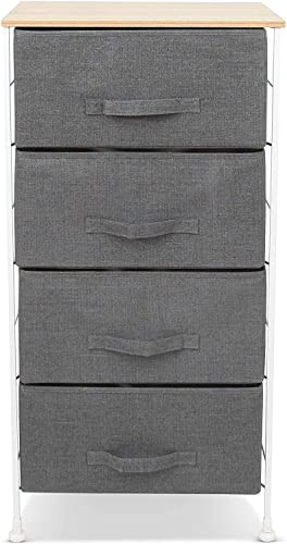 Luxton Home 4 Drawer Storage Organizer 60 Second Fast Assembly