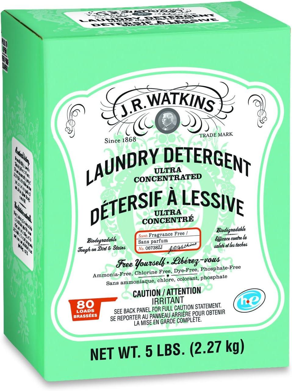 Watkins 06738 Laundry Powder Detergent, 5 lb