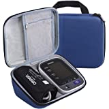 Case Compatible with 10 Series BP785N / BP786 / BP786N Wireless Upper Arm Blood Pressure Monitor, Fits Charger & Cuff (Dark Blue)