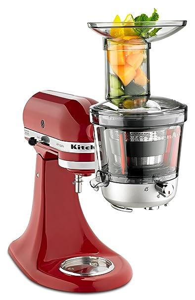 amazoncom kitchenaid ksm1ja masticating juicer and sauce attachment kitchen dining. Interior Design Ideas. Home Design Ideas