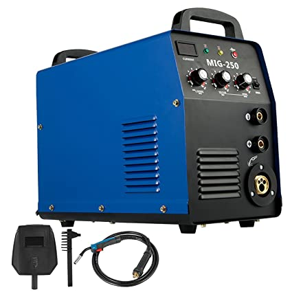 Cueffer Equipo de Soldadura MIG-250 Máquina de Soldadura Soldador Inverter con Electrodo Máquina de Soldar (MIG-250)
