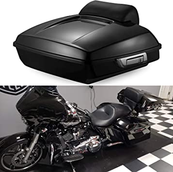 Fittings Motorcycle Chopped Tour Pak Pack Luggage Lid Tether Quick Release for Harley Davidson Road King Street Electra Glide Touring CVO