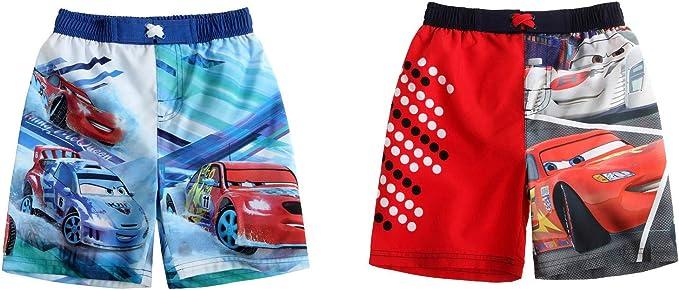 Disney Cars Kinder Jungen Badehosen Badeshorts Hosen Shorts Bademode Mode rot