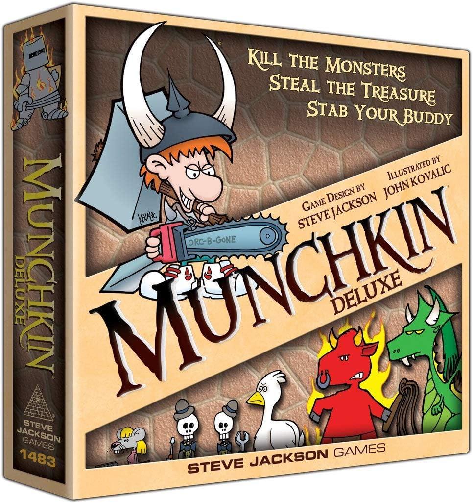 Steve Jackson Games 1483 Munchkin - Juego de Mesa (edición Inglesa ...