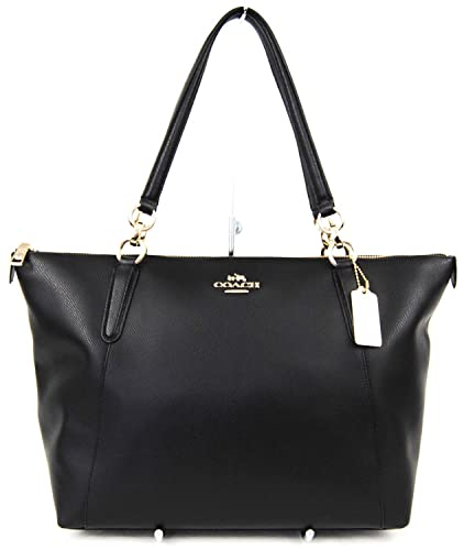 Amazon.com  AVA Tote in Crossgrain Leather in Black  350.00  Shoes c64e8261cfa96
