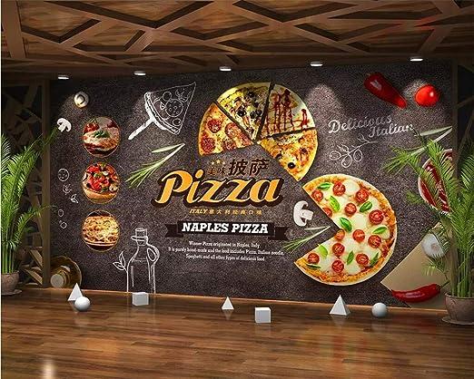 Papel pintado Fondo de pantalla Mural Dibujos animados gourmet ...