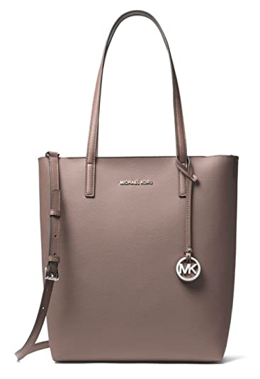 b6e480fca7b3 Image Unavailable. Image not available for. Color: Michael Kors Hayley Large  Leather North-South Tote ...