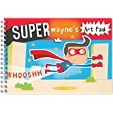 Children's Personalised Art/Drawing Pad A4 Super Boy