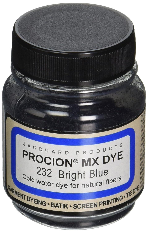 Jacquard Products Procion MX Dye, 2/3-Ounce, Bright Blue PMX-1232