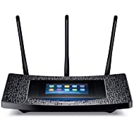 TP-Link AC1900 Wireless Wi-Fi Gigabit Router Touch Screen Setup (Touch P5)