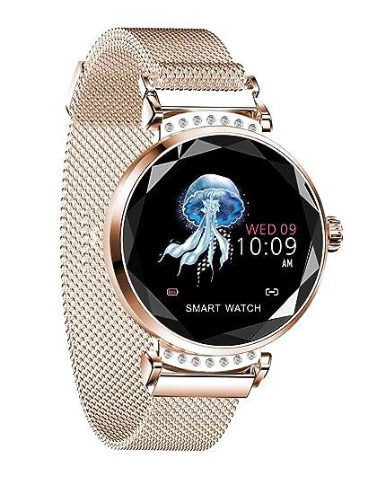 Amazon.com: vmree H2 Women Ladies Smartwatches Blood ...
