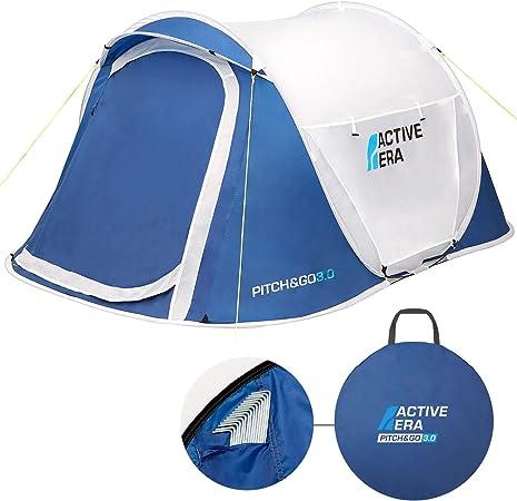 MOVTOTOP Wurfzelt Camping Wasserdicht Pop Up Zelt 2-3 Personen 200x145x130cm DHL
