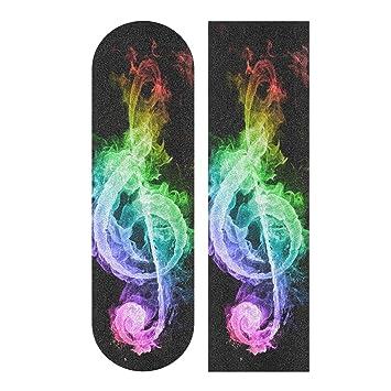 Amazon.com: Rainbow Note Fire - Cinta antideslizante de ...