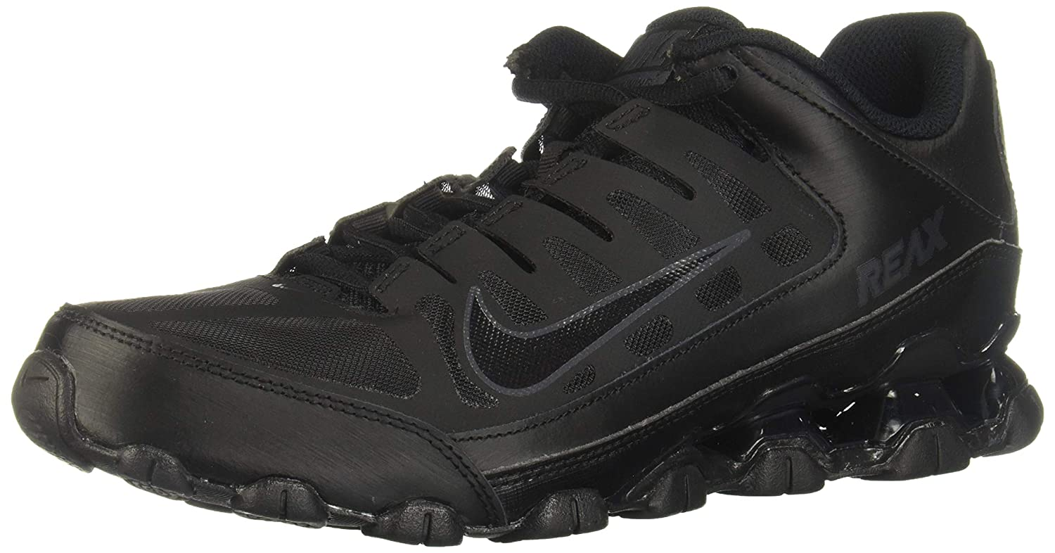 03cf300811 Amazon.com | Nike - Reax 8 TR Mesh - 621716001 - Color: Black - Size: 9.5 |  Fitness & Cross-Training