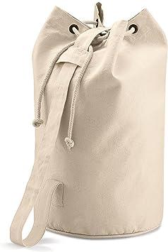 Quadra - Bolso de lona algodón 100% natural: Amazon.es: Equipaje