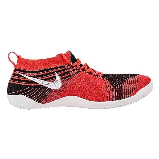 a4df686955acc Amazon.com  Nike Hyperfeel Cross Elite Womens Black White Crimson Fireberry  Athletic Sneakers (8)  Sports   Outdoors