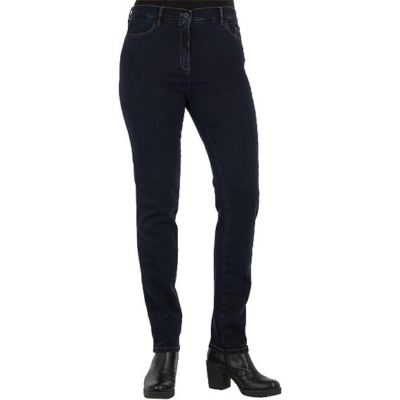 TONI Damen Jeans BELMONTE CS Slim Fit Dark Blue Stretch