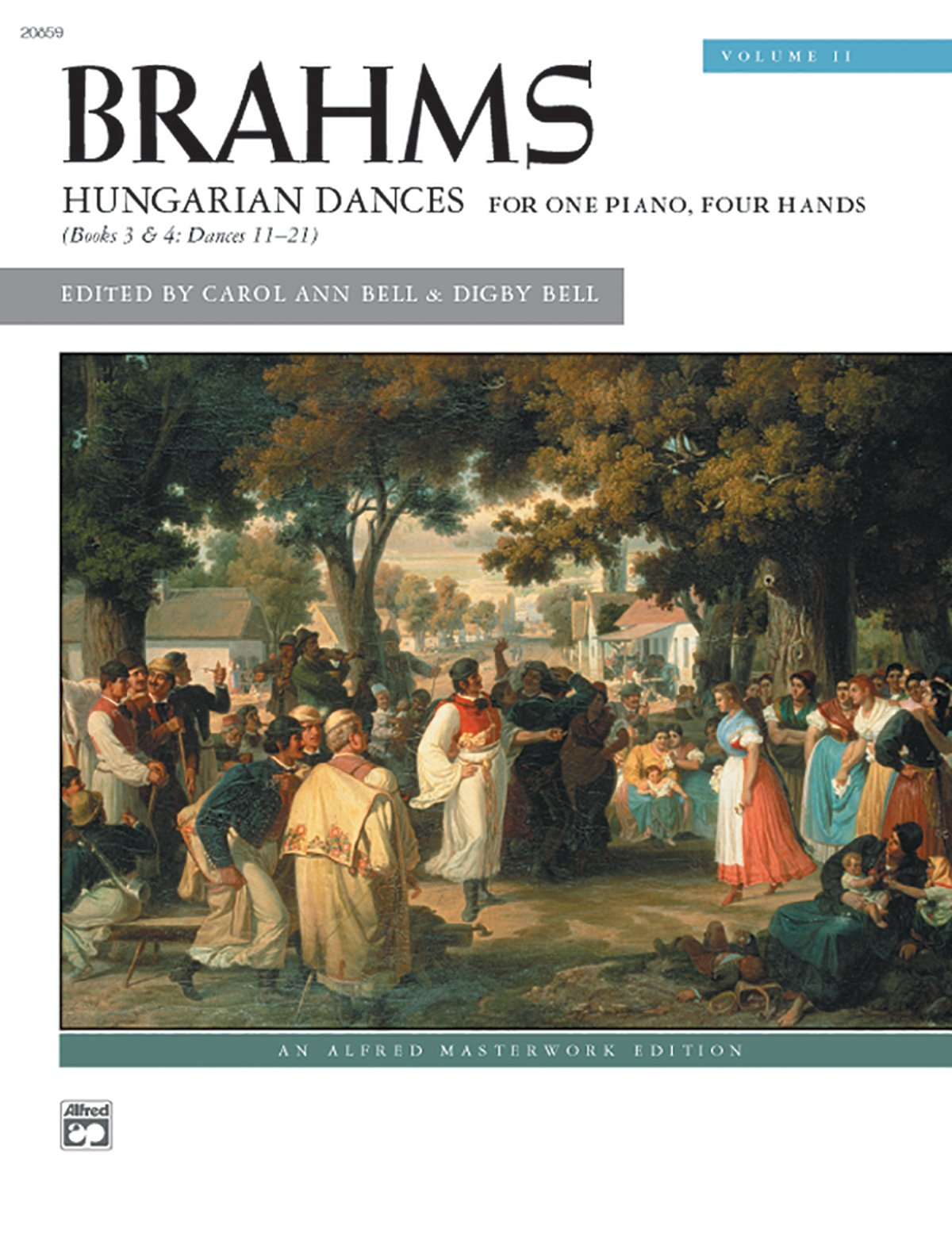Read Online Brahms -- Hungarian Dances, Vol 2 (Alfred Masterwork Edition) pdf epub