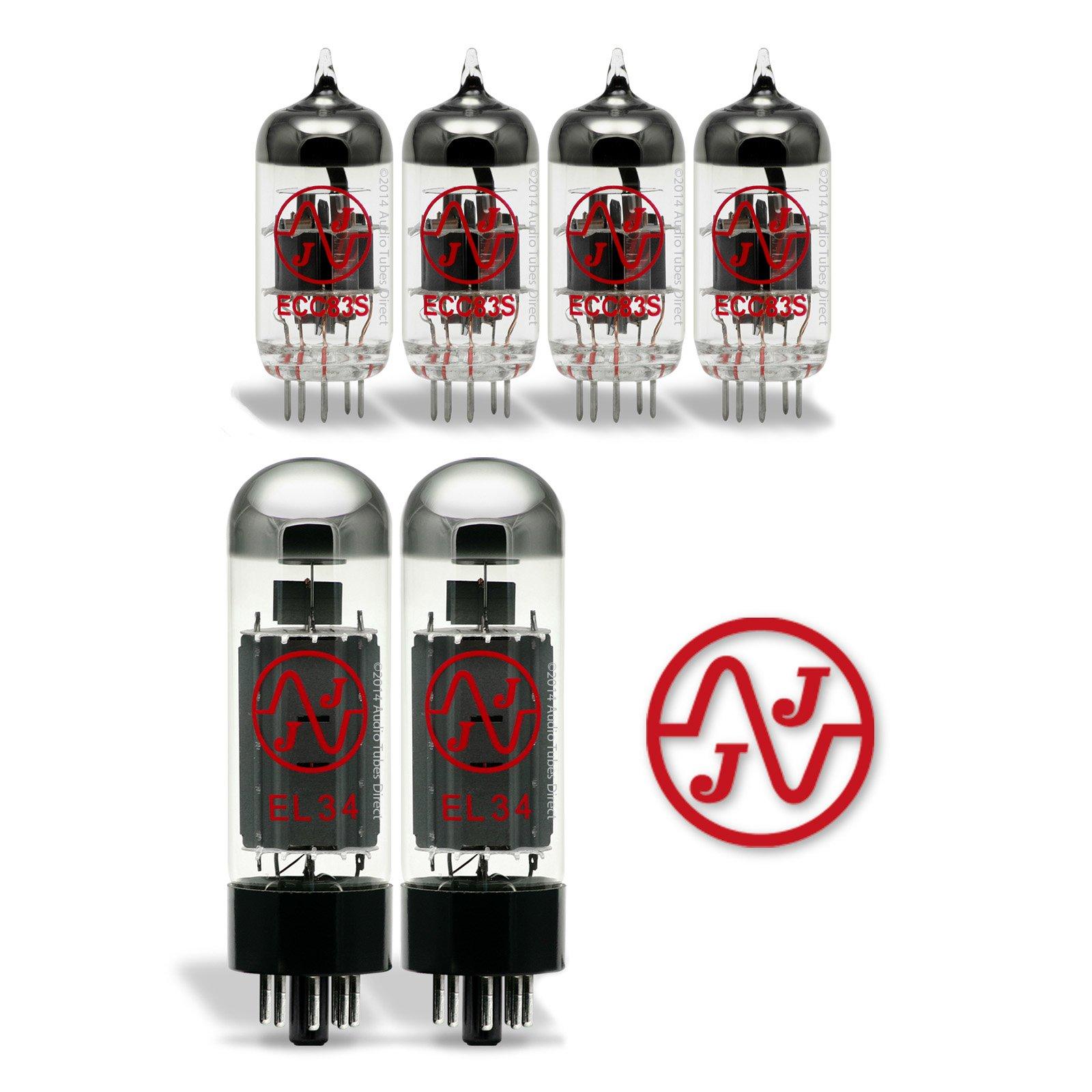 JJ Tube Upgrade Kit For Marshall JCM 2000 DSL 50 DSL 40C Amps EL34/ECC83S