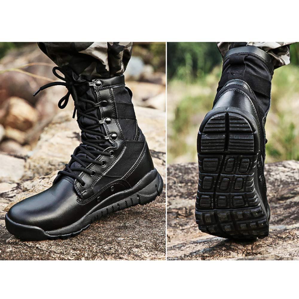 Herren Kampf Desert Stiefel Stiefel Professionelle Wandern Camping Taktische Stiefel Stiefel Trainingsschuhe Schwarz Army Military Schuhes Boot schwarz 639d4a