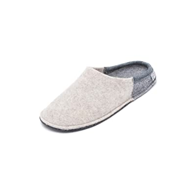 Le Clare Nuvola Bico Men's Italian Wool Felt Slipper | Slippers