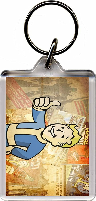 Fallout 4 Llavero D: Amazon.es: Equipaje