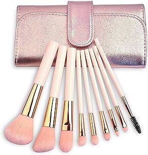 GUO 9 kit d'outils de maquillage pinceau fond de teint pour l'ombre à paupières débutants brosse brosses ensemble complet