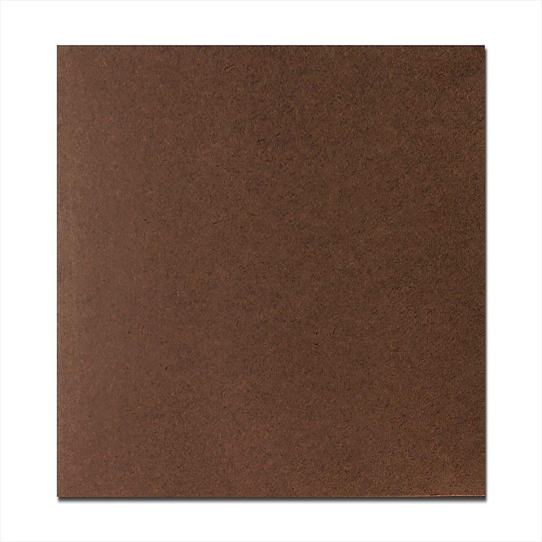 1/8 inch (3mm) 7'' X 7'' Hardboard Tempered Panel (36 Sheets) by DGwood