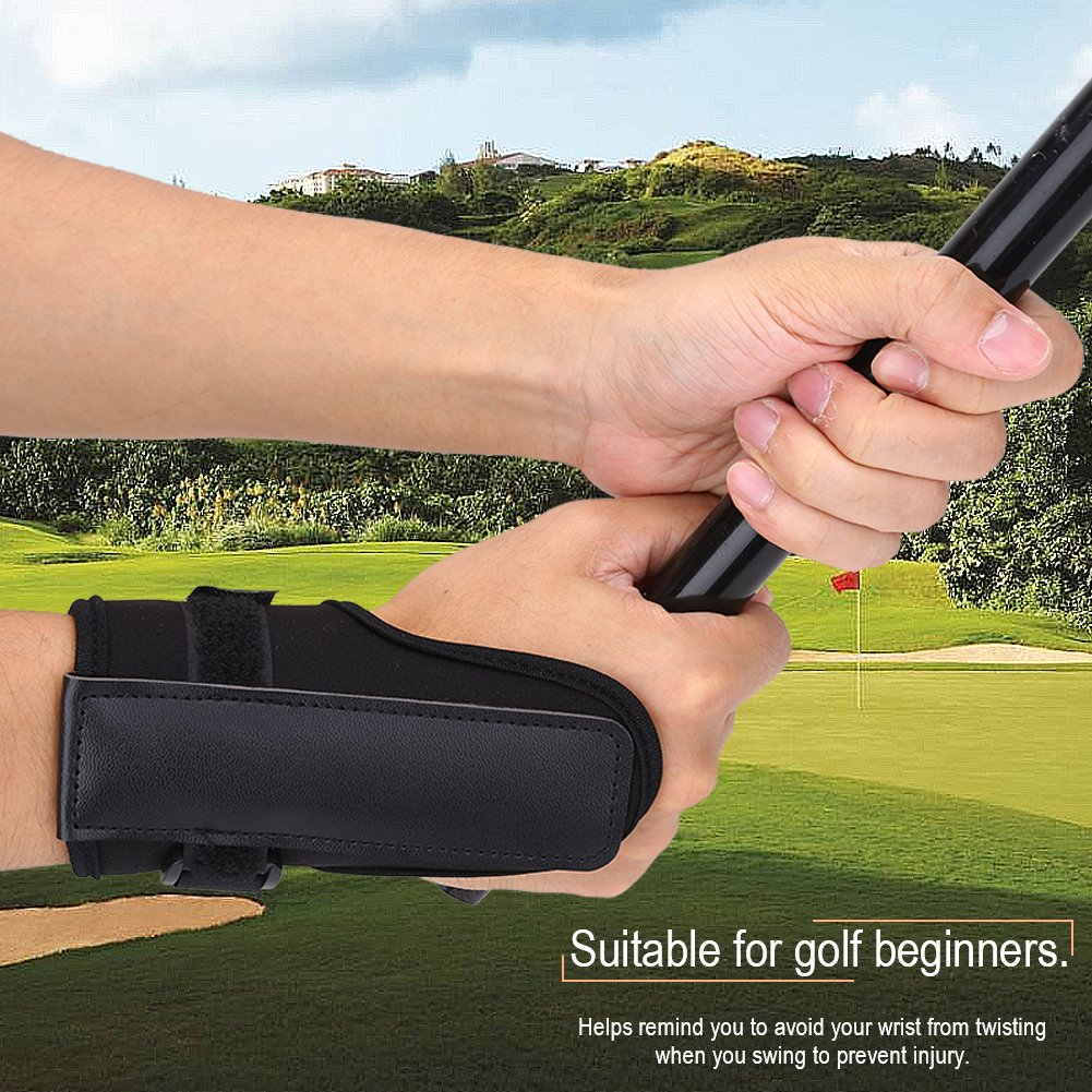 Golf Swing Training Aid Tactic, Golf Wrist Brace Band, Glove Golf Swing Train Aid Set Straight Practice Wrist Brace Trainer Corrector Golfer Accessory by Vbestlife (Image #4)