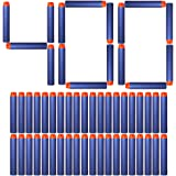 AMOSTING Refill Darts 400PCS Bullet for Nerf N-Strike Elite Zombie Strike Rebelle - Blue