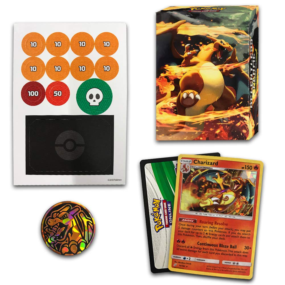 Pokemon TCG: Sun & Moon Team Up, Relentless Flame 60-Card Theme Deck Featuring A Promo Charizard by Pokemon (Image #2)