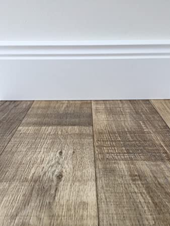 GroBartig PVC Bodenbelag Holzoptik In Dunkelbraun | Vinyl Fußbodenbelag 100 Cm Länge  U0026 2 M