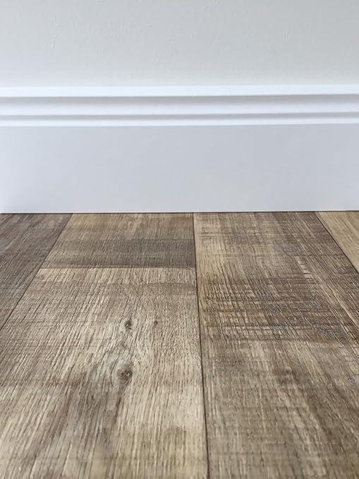 Gut bekannt PVC-Bodenbelag Holzoptik in Dunkelbraun | Vinyl-Fußbodenbelag 150 LF55