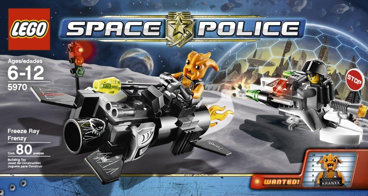 LEGO Space Police Freeze Ray Frenzy 5970