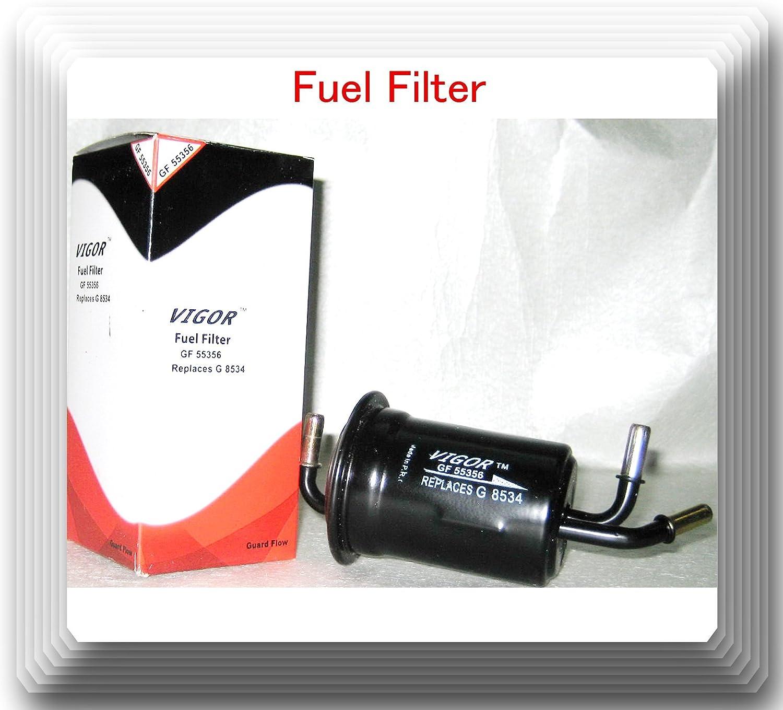 Amazon.com: Brand Vigor GF55356 In-Line Fuel Filter Fits: (Kia Sephia  1998-2001) (Kia Spectra 2000-2004) (50): AutomotiveAmazon.com