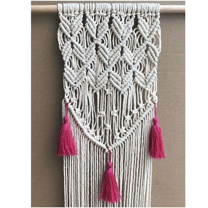 d21b94ee98dc Cuerda trenzada de algodón hecha a mano decoraciones Aosika 100 ...