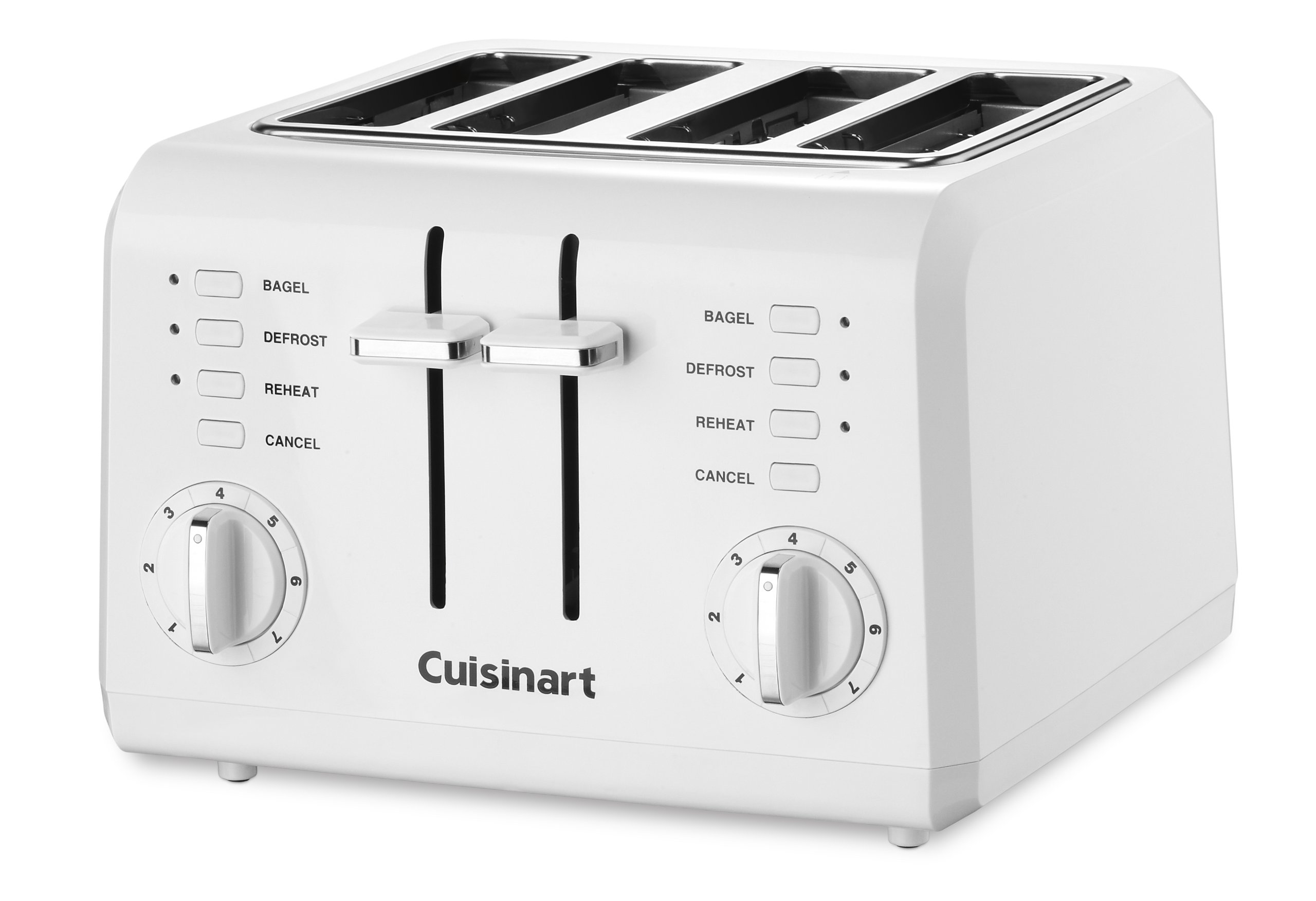 Cuisinart CPT-142 Compact 4-Slice Toaster, White by Cuisinart