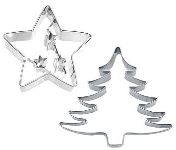 Weihnachtsstern Für Tannenbaum.Caleidolex Ausstechset Weihnachtsstern Weihnachtsbaum Gross 2