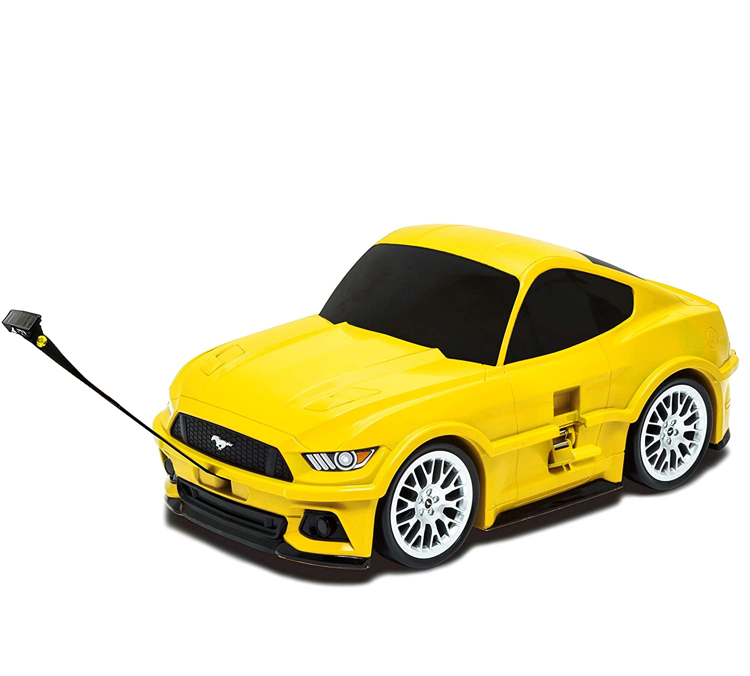 Amazon com lucky planet ford mustang kids suitcase yellow kids luggage