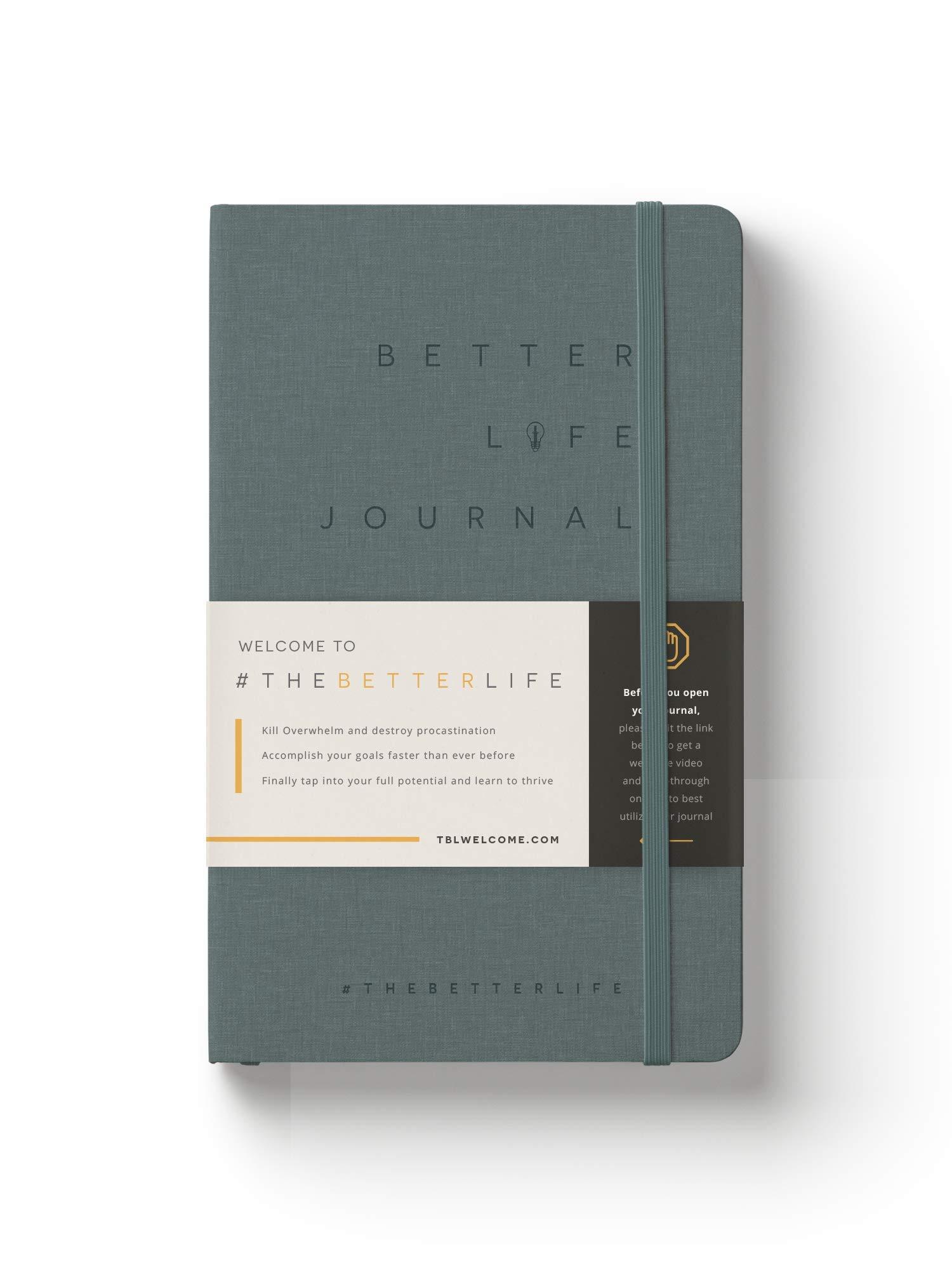Dean Graziosi Better Life Journal Outcome Journaling Dean Graziosi 9781733498135 Amazon Com Books