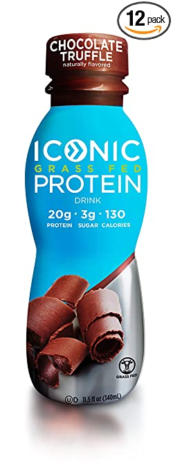 Product thumbnail for Iconic Grass Fed Protein Drink
