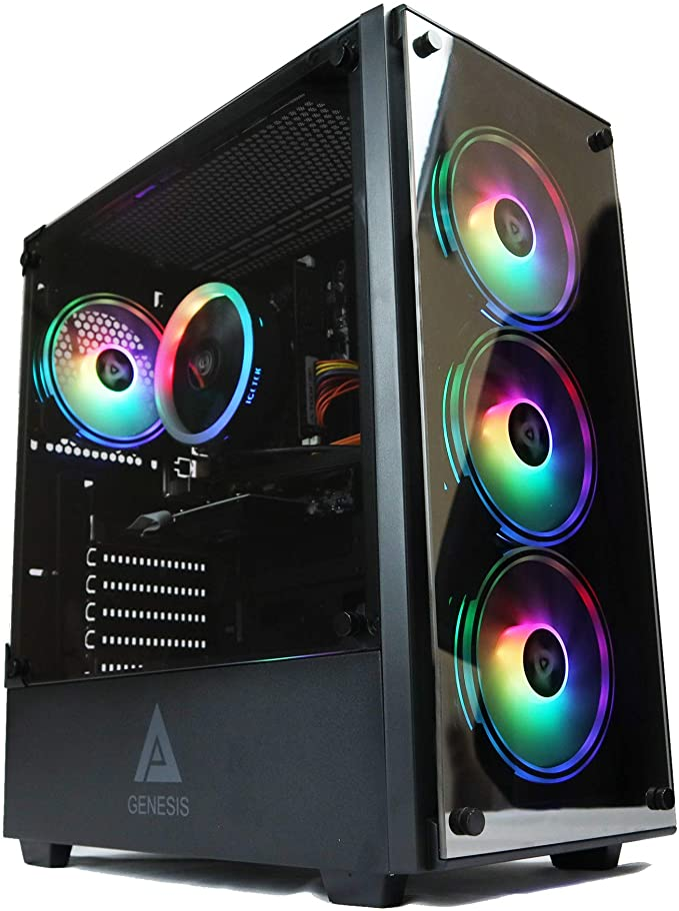 Gaming PC Desktop Computer Genesis Design i5 2500 3.30ghz, 8GB DDR3 Ram, Geforce GTX 750 2GB Graphic, 500GB SSD Drive, 550w Power, WiFi Ready | Amazon