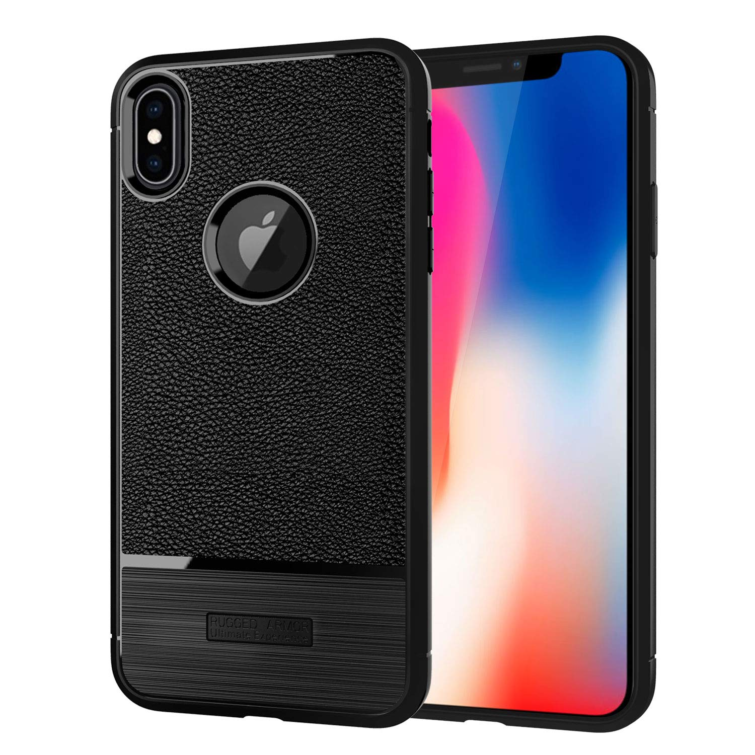 detailed look 3c797 71aa1 iPhone X Case, iPhone Xs Case, [Scratch Resistant] Actionpie TPU Bumper  Case with Built-in Invisible airbag Protection for iPhone X, iPhone Xs 5.8  ...
