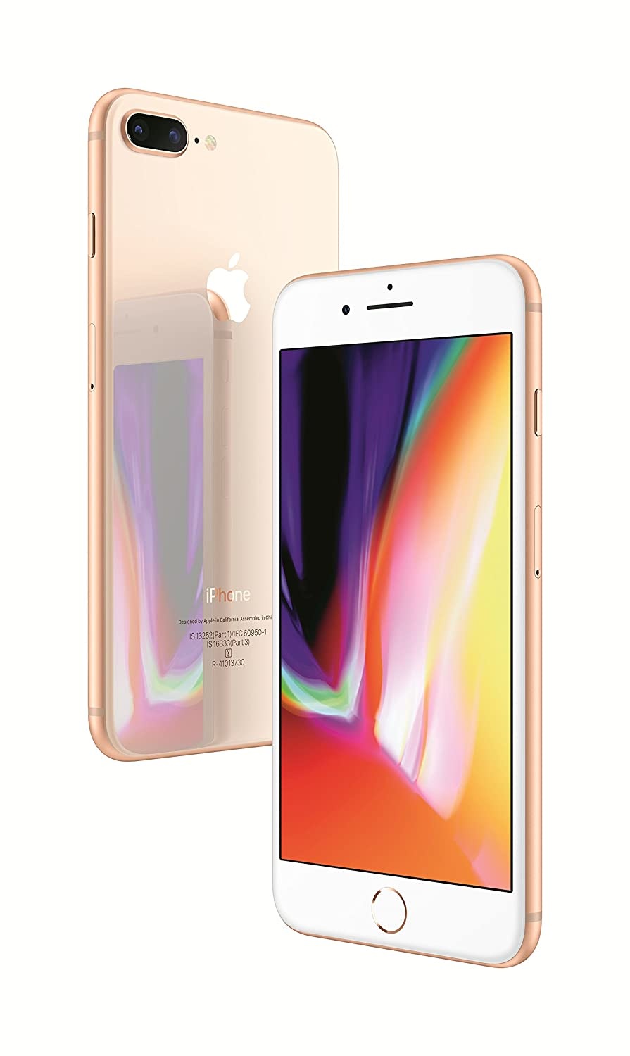 5d2fe9512b2 Apple iPhone 8 Plus (64GB) - Gold  Amazon.in  Electronics