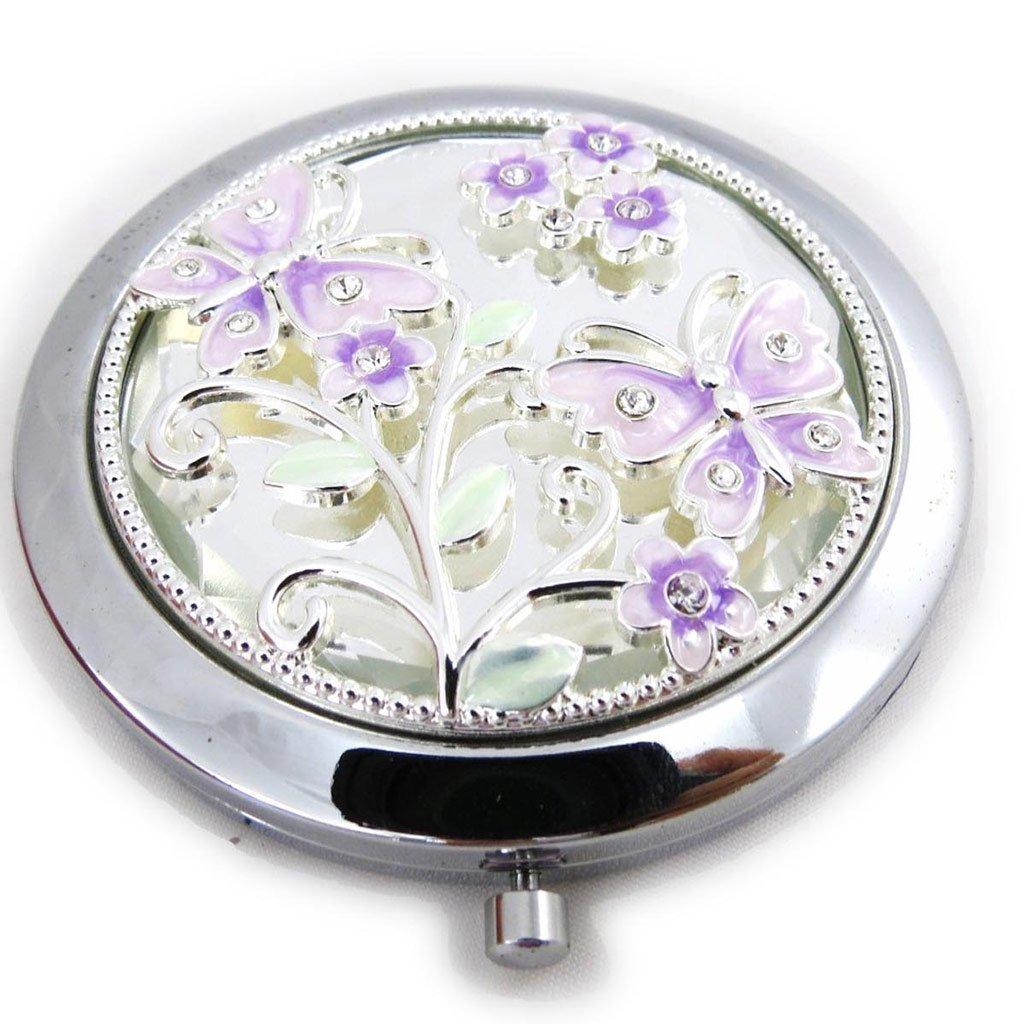 Les Trésors De Lily [J4672] - Miroir Créateur 'Papillon de Soie' lilas Les Tresors de Lily 040801ZZZ102012J467200