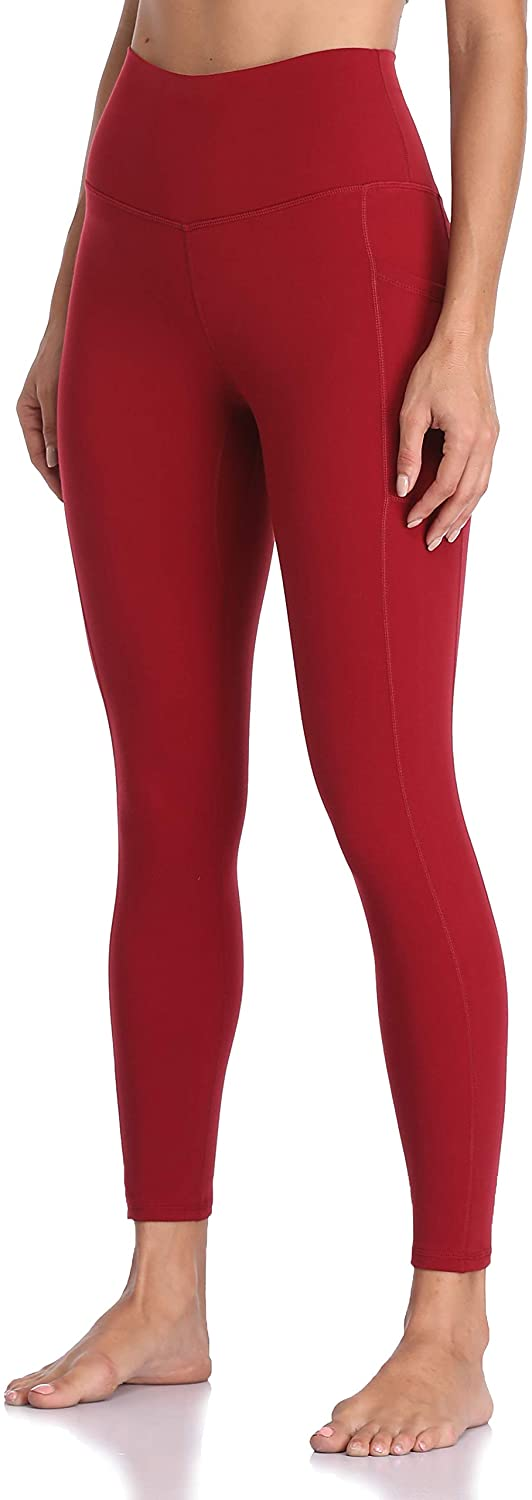 Colorfulkoala Women's High Waisted Yoga Pants 7/8 Length Leggings with Pockets at  Women's Clothing store