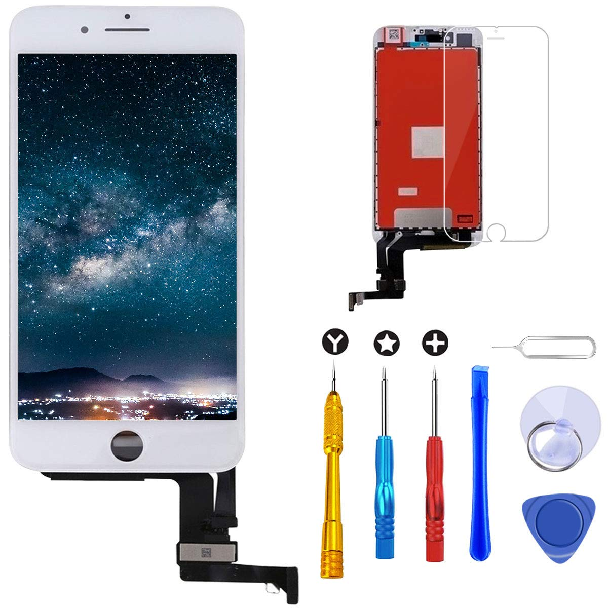 Modulo LCD Blanco para IPhone 7 Plus 5.5 Inch  -336